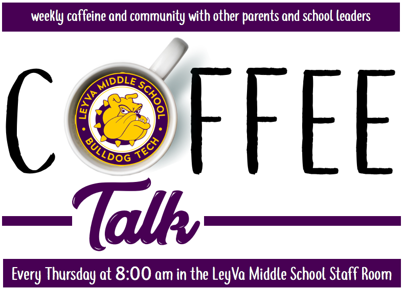 Coffee Talk weekly parent meeting